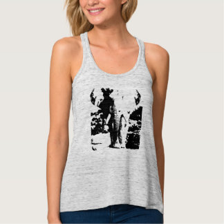 T-shirt met zwart-witte drukolifant