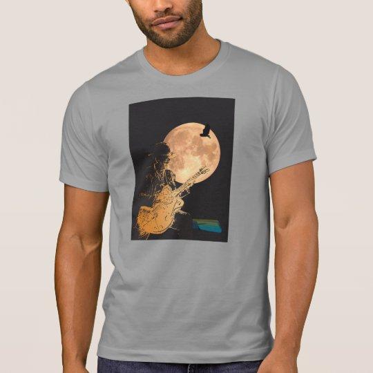 T-shirt print guitarist songwriter