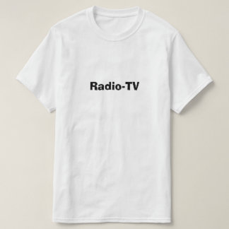 T-shirt radio-TV