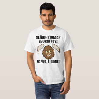 T-shirt senor-Squatch