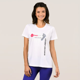 T-shirt Sport-Teak competitor voor vrouw
