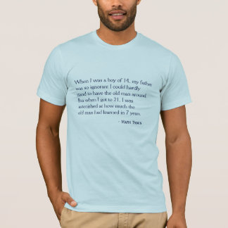 T-shirt - tieners dads