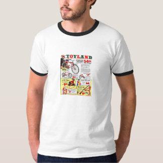 T-shirt - Toyland - jaren '50 - Kerstmis -