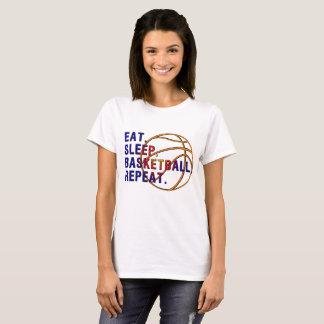 T-shirt van ฺBasketball van vrouwen de Basis