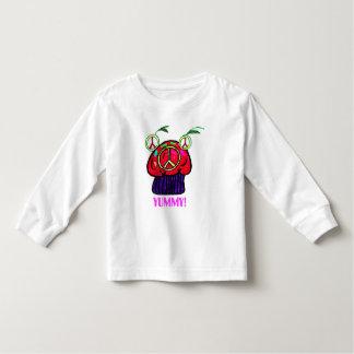 T-shirt van Cupcake van de vrede Yummy Kinder