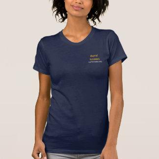T-shirt van de Afbeeldingen van de vrouw de