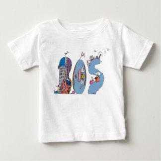 T-shirt | van de baby BOSTON, doctorandus in de