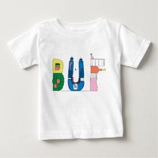T-shirt   van de baby BUFFELS, NY (BUF)