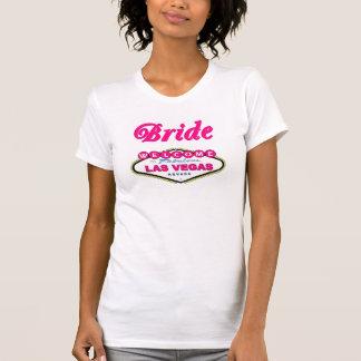 T-shirt van de Bruid van Las Vegas van de Kauwgom