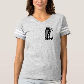 T-shirt van de Dames van het team het Pro Sexy