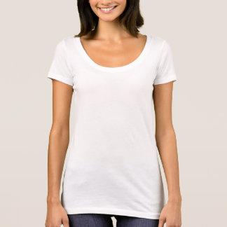 T-shirt van de Hals van de Lepel van het Niveau