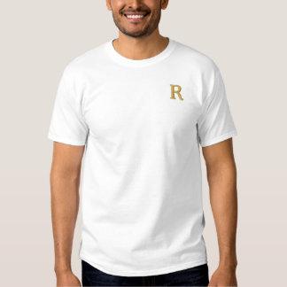 T-shirt van de Initialen van het Monogram van de