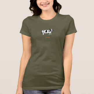 T-shirt van de Koe van het Design van Fishfry de