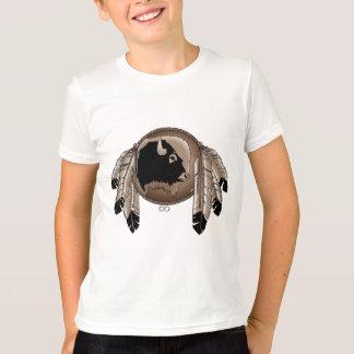 T-shirt van de Kunst van de Natie van de Kinder