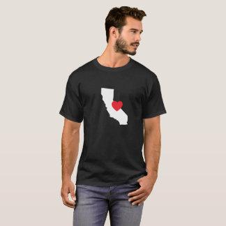T-shirt | van de Liefde van Californië Zwarte