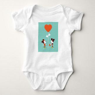 T-SHIRT van de Liefde van Mickey & van de