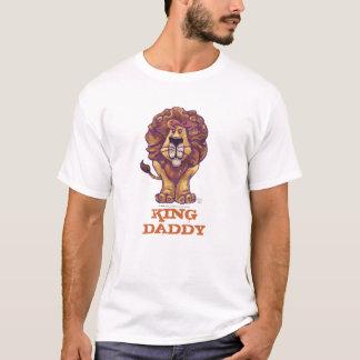 T-shirt van de Papa van de Koning van de leeuw de