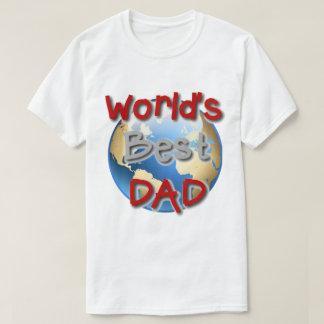 T-shirt van de Papa van de Wereld van de douane de