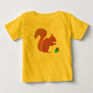T-shirt van de Peuter van Jersey van de eekhoorn