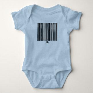 T-shirt van de Streepjescode van Billy