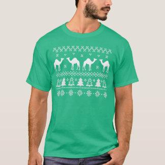 T-shirt van de Sweater van Kerstmis van de Kameel