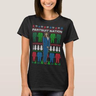 T-shirt van de Sweater van Kerstmis van de Natie