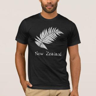 T-shirt van de Varen van Nieuw Zeeland de Zilveren