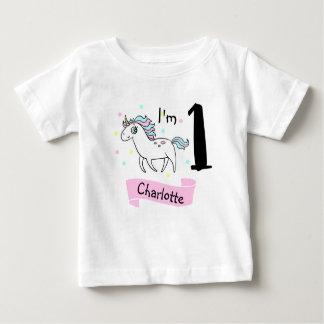 T-shirt van de Verjaardag van de Eenhoorn van