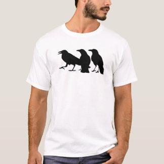 T-shirt van drie de Zwarte Kraaien