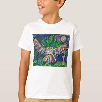 T-shirt van Eagle van het kind de Maanbeschenen