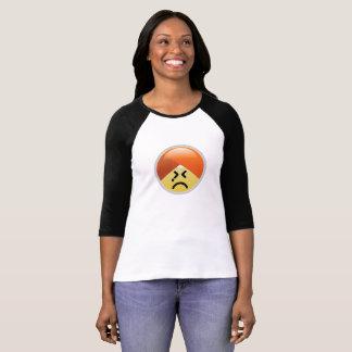T-shirt van Emoji van de Tulband van het Zweet van
