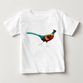 T-shirt van het Baby van de Fazant van de ring