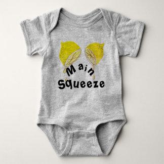 T-shirt van het Baby van de Samendrukking van