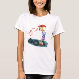 T-shirt van het Dier van de oma de Sexy