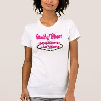 T-shirt van het Eerste bruidsmeisje van Las Vegas