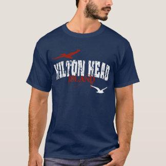 T-shirt van het Eiland van Hilton de Hoofd