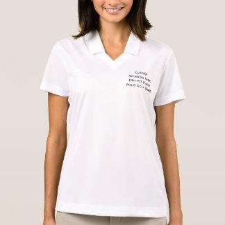T-shirt van het Golf van het Polo van het Piqué