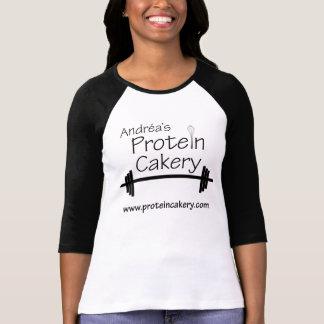 T-shirt van het Logo Cakery van Andréa de Eiwit