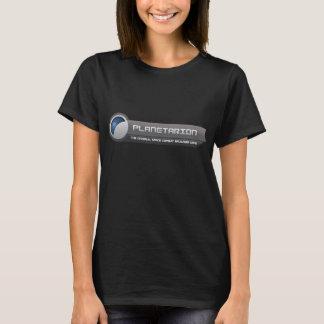 T-shirt van het Logo van Planetarion van vrouwen