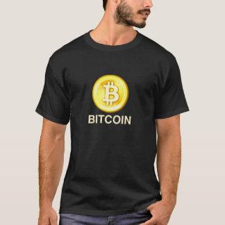 T-shirt van het Muntstuk van Bitcoin de Gouden