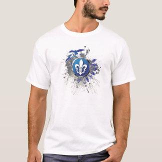 T-shirt van het Ontwerp van Quebec de Stedelijke
