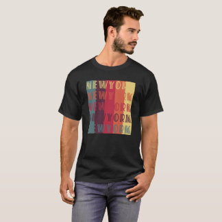 T-shirt van het Palet van de Kleur van New York de