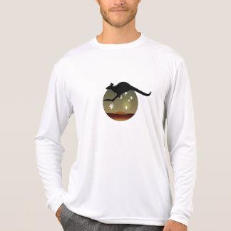 T-shirt van het Sleeve van de Kangoeroe van Aussie
