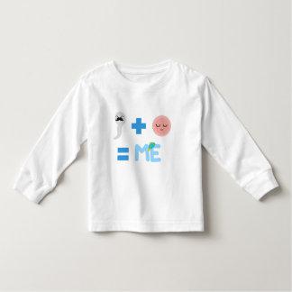 T-shirt van het Sleeve van de peuter de Lange