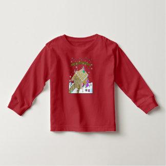 T-shirt van het Sleeve van de peuter de Lange,