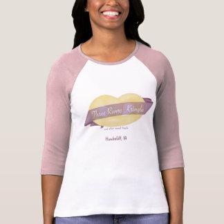 T-shirt van het Sleeve van drie van Rivieren