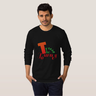 T-shirt van het Sleeve van het man de Lange