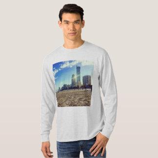 T-shirt van het Sleeve van het mannen de