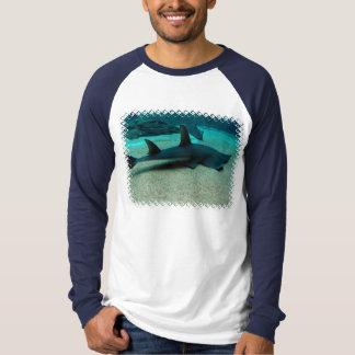 T-shirt van het Sleeve van het Mannen van de Haai