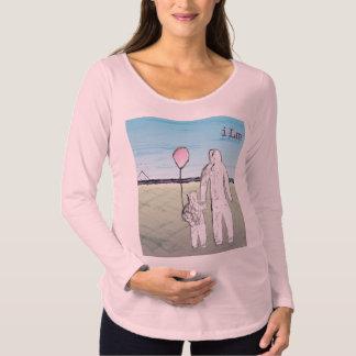 T-shirt van het Sleeve van het Moederschap ILM de